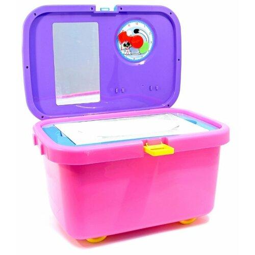 Игровой набор Shantou Gepai для уборки Cleaner 2092 желтый/розовый/фиолетовый недорого
