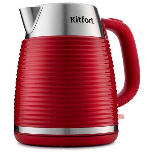 Чайник Kitfort КТ-695-2, красный