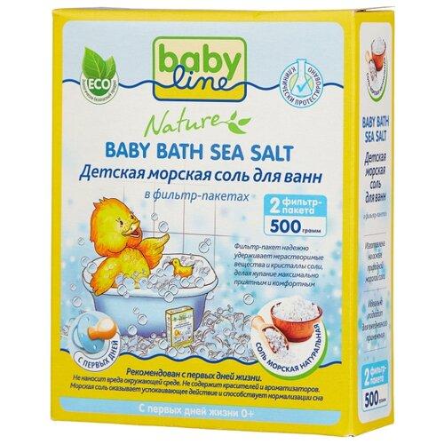 Купить BabyLine Nature Морская соль натуральная 500 г, Средства для купания