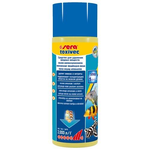 Sera Toxivec средство для профилактики и очищения аквариумной воды, 500 мл кондиционер для воды sera toxivec 100мл