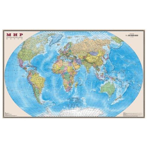 DMB Политическая карта Мир 1:20 (295)