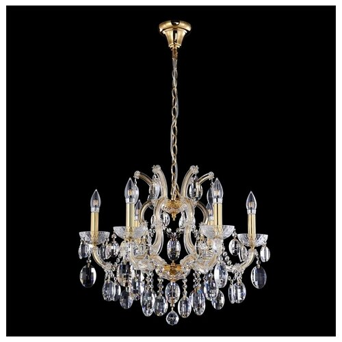 Люстра Crystal Lux Hollywood SP6 Gold, E14, 240 Вт люстра crystal lux sevilia pl6 gold e14 240 вт