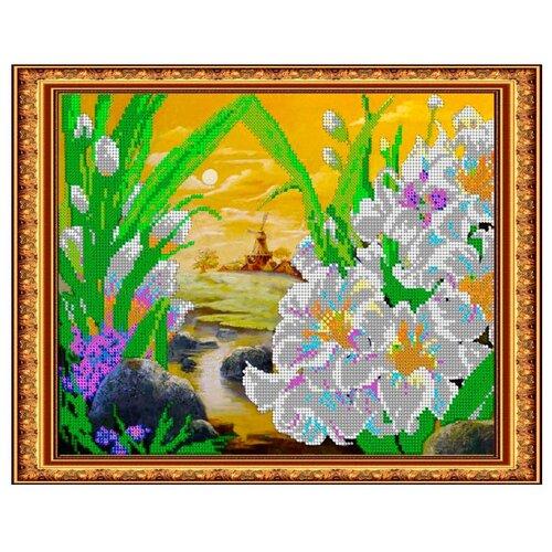 Купить Светлица Набор для вышивания бисером Мельница 30 х 24 см (269), Наборы для вышивания