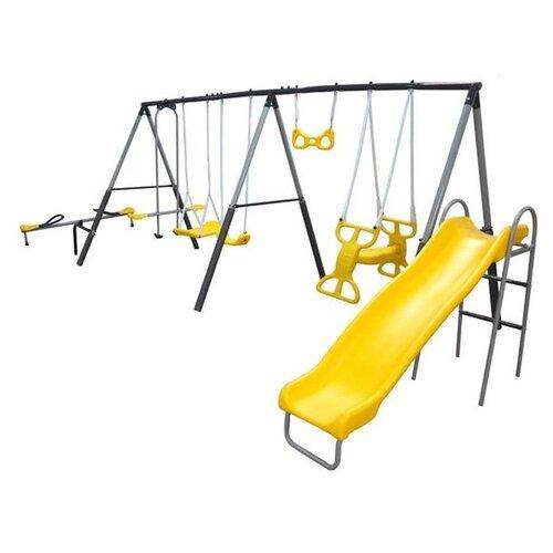 Спортивно-игровой комплекс DFC 76509 желтый/серый