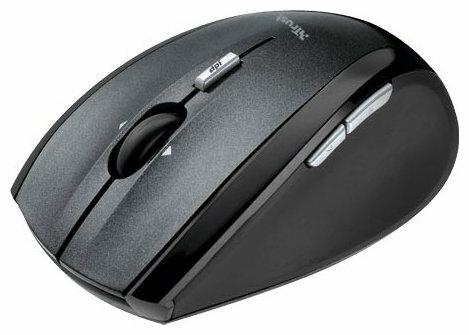 Мышь Trust Wireless Laser Mini Mouse MI-7600Rp Black USB
