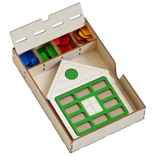 Купить Набор рамок-вкладышей Raduga Kids Домик (RK1023), Пазлы