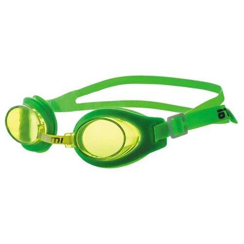 Очки для плавания ATEMI S101 зеленый