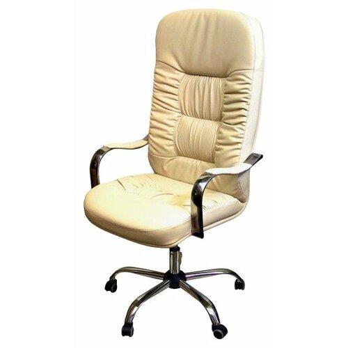 цена на Компьютерное кресло Креслов Болеро КВ-03-131112, обивка: искусственная кожа, цвет: бежевый