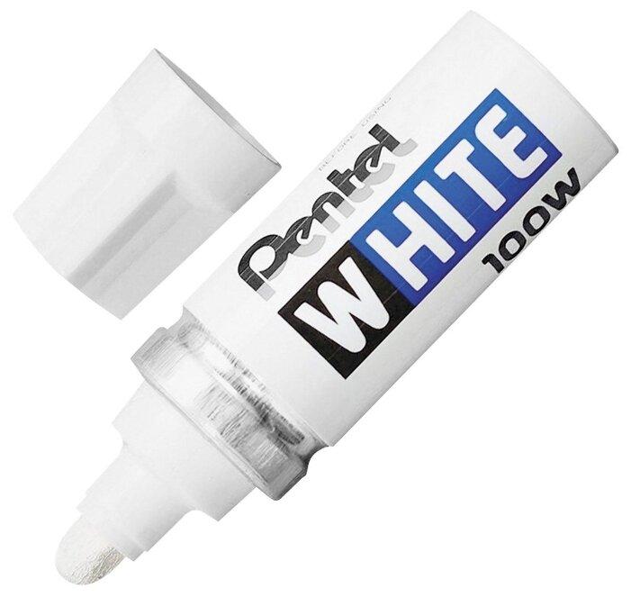 Маркер-краска Pentel White X100W