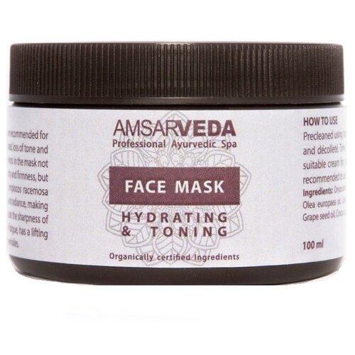 Amsarveda увлажняющая и тонизирующая маска, 100 г