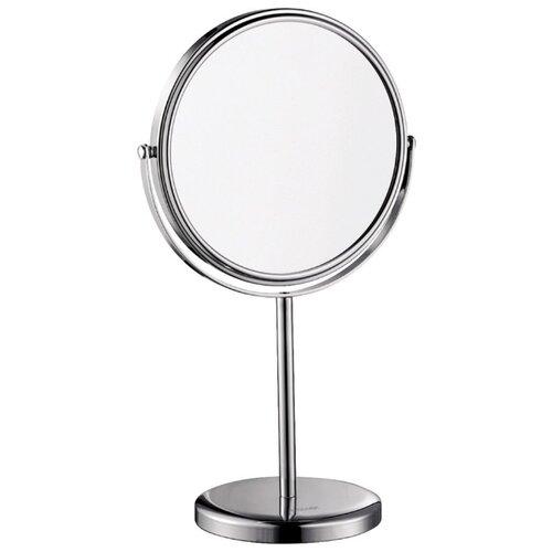 Зеркало косметическое настольное WasserKRAFT K-1003 хром зеркало косметическое swensa 20 см настольное хром l01 8