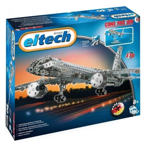 Купить Винтовой конструктор Eitech Classic C10 Реактивный самолет, Конструкторы