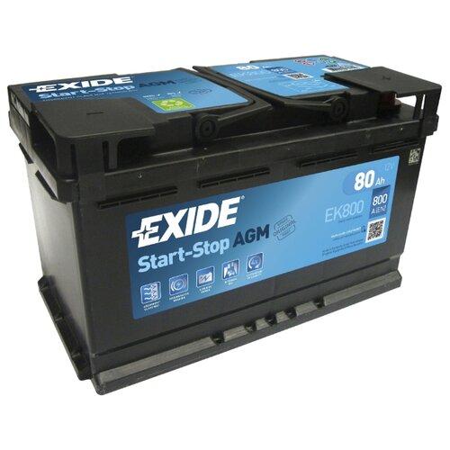 Автомобильный аккумулятор Exide Start-Stop AGM EK800