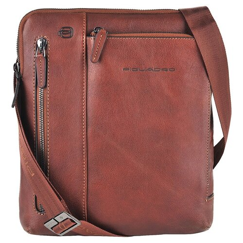 сумка планшет piquadro натуральная кожа табачный Сумка планшет PIQUADRO, натуральная кожа, табачный