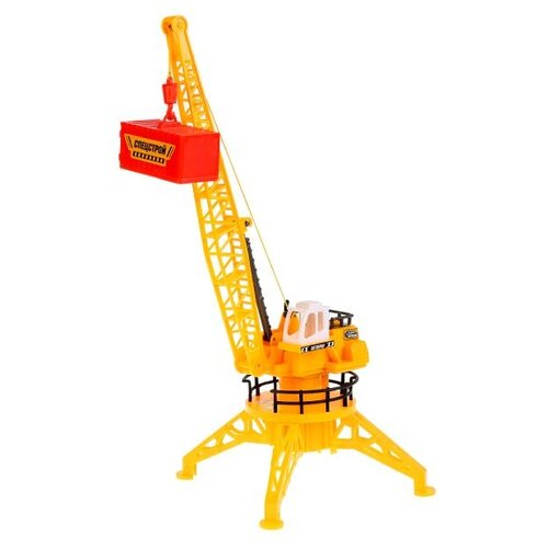 Купить Подъемный кран Технодрайв 1401F132-R желтый, Радиоуправляемые игрушки