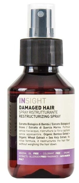 Insight DAMAGED HAIR Реструктурирующий спрей для волос
