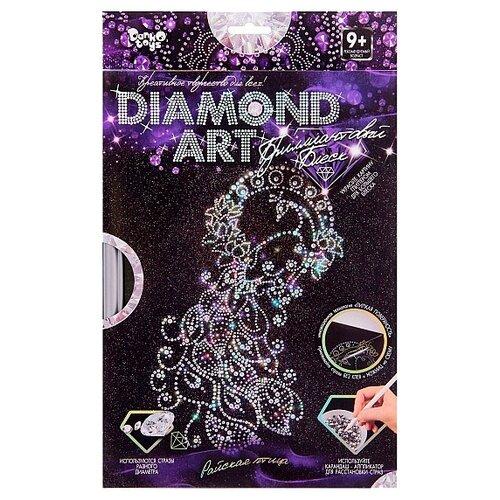 Купить Danko Toys Набор алмазной вышивки Diamond Art Павлин (DAR-01-07), Алмазная вышивка