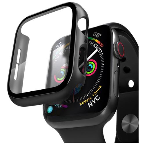 Кейс со стеклом Deppa для Apple Watch 4/5 series 40 мм черный