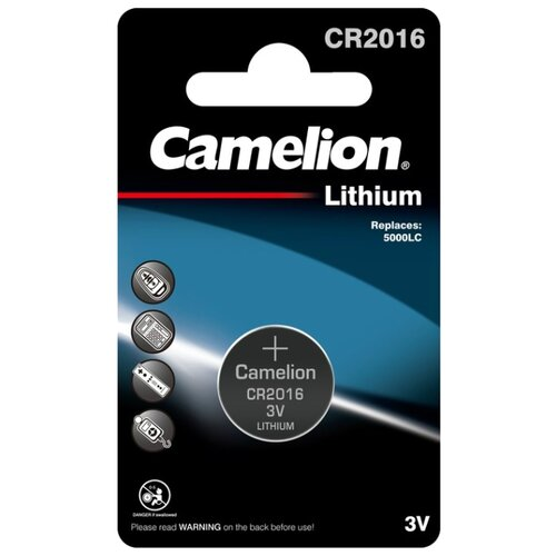Фото - Батарейка Camelion CR2016, 1 шт. батарейка camelion lr23a 1 шт