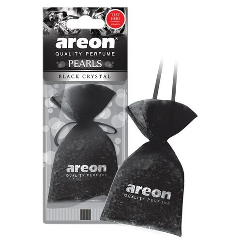 AREON Ароматизатор для автомобиля Pearls Black Crystal ABP01