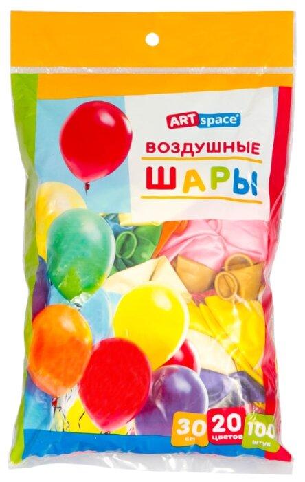 Воздушные шары ArtSpace, 100шт., 12