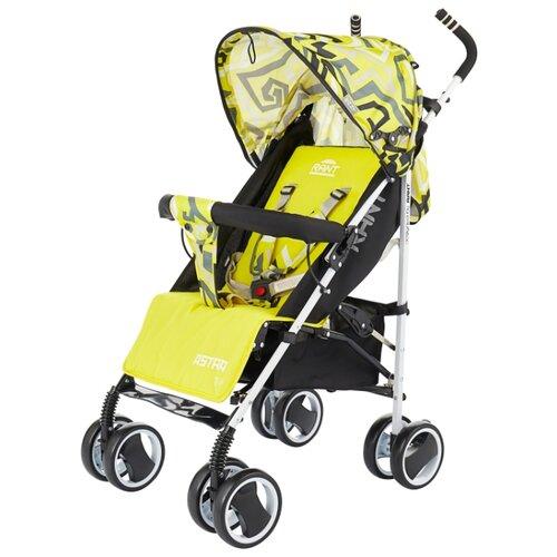Прогулочная коляска RANT Astra Plus 2018 labirint yellow