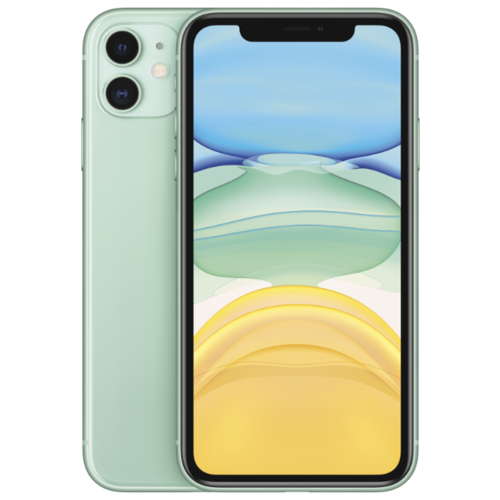 Смартфон Apple iPhone 11 128GB зеленый (MWM62RU/A) смартфон apple iphone 11 128gb зеленый mwm62ru a