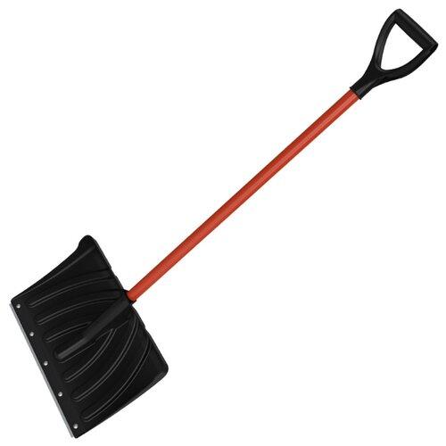 Лопата Cycle Стандарт Крепыш (7023-00) черный, оранжевый 33.5x45 см