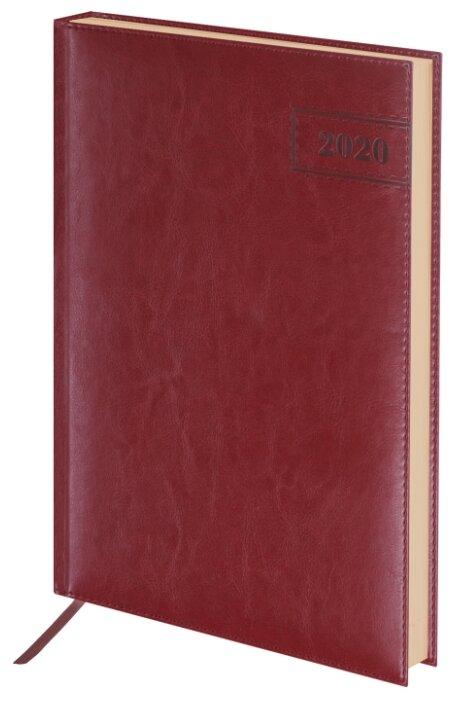 Ежедневник BRAUBERG Imperial датированный на 2020 год, искусственная кожа, А4, 168 листов