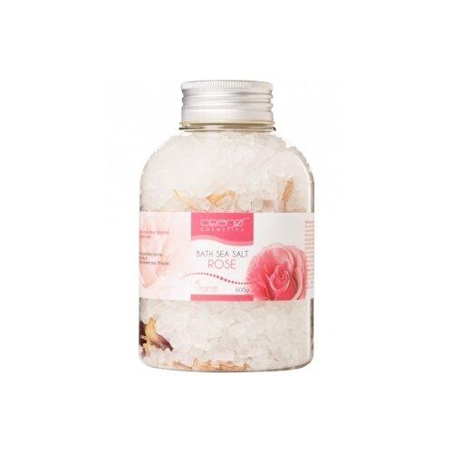 Ceano Cosmetics Соль для ванн Роза, 600 г ceano cosmetics кремер для ванн малина 40 г