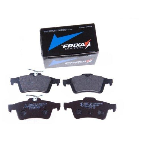 Дисковые тормозные колодки задние Frixa FPE102 для Ford Focus, Mazda 3, Peugeot 508, Citroen C5 (4 шт.)