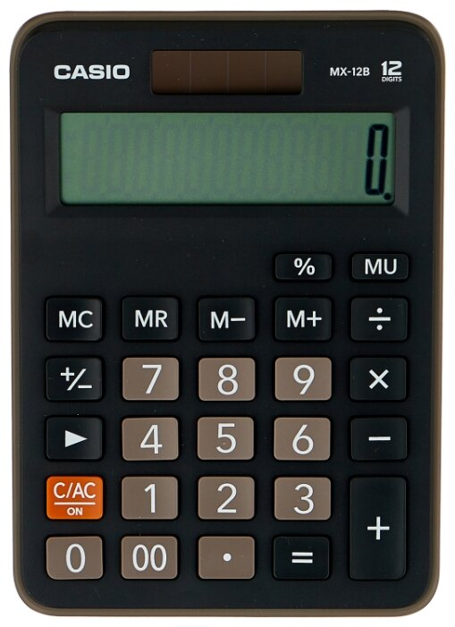 Калькулятор бухгалтерский CASIO MX-12B-W