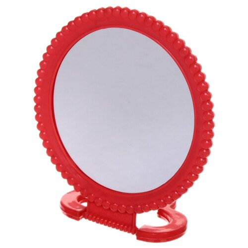 Зеркало косметическое настольное Florento Бусинки (420-264) красный