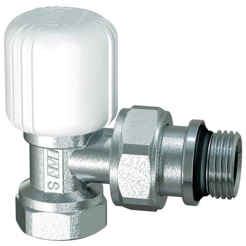 Фото - Запорный клапан FAR FV 1155 муфтовый (ВР/НР), латунь, для радиаторов Ду 15 (1/2) запорный клапан far ft 1616 муфтовый нр нр латунь для радиаторов ду 15 1 2