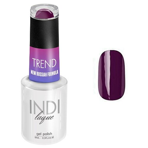 Купить Гель-лак для ногтей Runail Professional INDI Trend классические оттенки, 9 мл, 5124