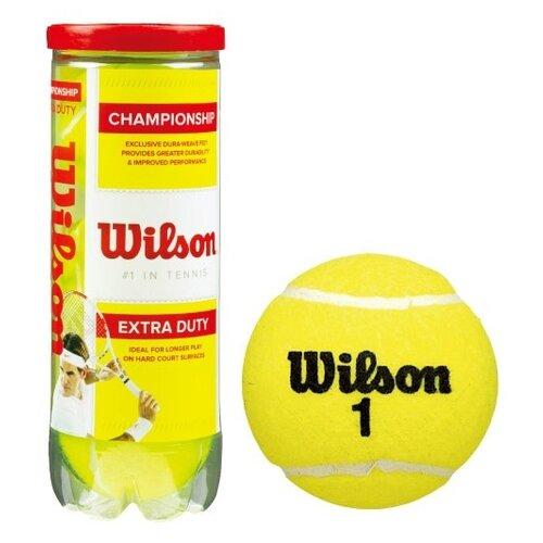 Мяч Wilson Championship WRT100101 желтый