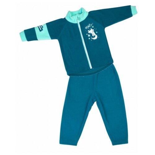 Комплект одежды Babyglory размер 92, бирюзовый джемпер для новорожденных babyglory superstar цвет синий ss001 09 размер 92
