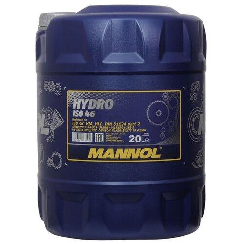 Гидравлическое масло Mannol Hydro HV 46 20 л