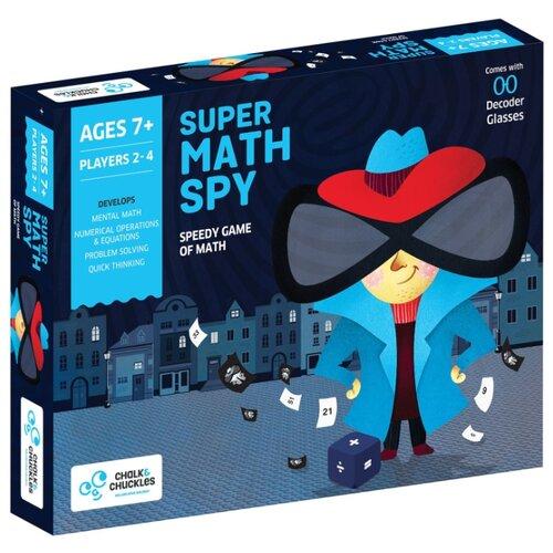 Купить Настольная игра Chalk & Chuckles Super Math Spy, Настольные игры
