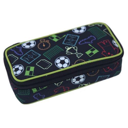 Купить Mprinz Пенал Soccer (335761) черный, Пеналы