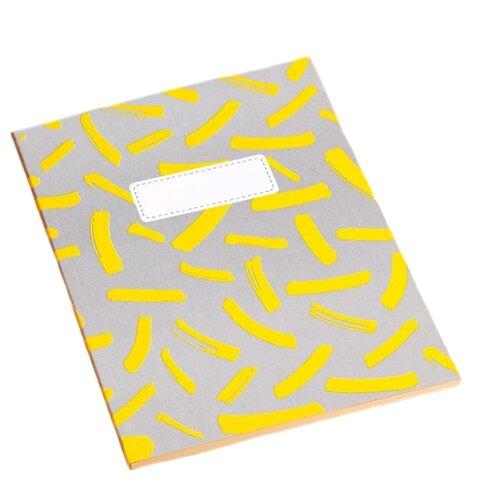 Скетчбук для эскизов Подписные издания 21 х 14.8 см (A5), 120 г/м², 30 л. желтый/серый открытка подписные издания дом мельникова 10 х 15 см
