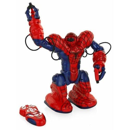 цена на Интерактивная игрушка робот WowWee SpiderSapien красный/синий