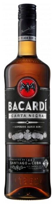 Ром Bacardi Carta Negra, 4 года, 0.5 л