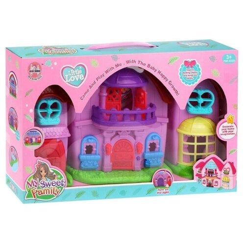 Купить Наша игрушка кукольный домик 5588, разноцветный, Кукольные домики