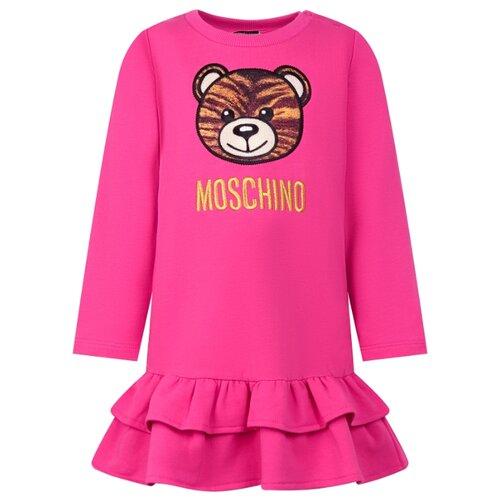 Купить Платье MOSCHINO размер 86-92, розовый, Платья и юбки