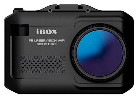 Видеорегистратор с радар-детектором iBOX F5 LaserVision WiFi Signature + Карта памяти microSDHC на 32 ГБ