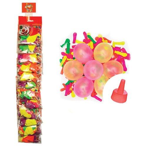 Набор воздушных шаров Поиск Водяные бомбочки Неон (100 шт.)