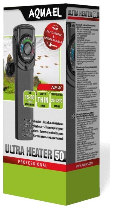 Цилиндрический нагреватель AQUAEL ULTRA HEATER 50W (15-50 л)