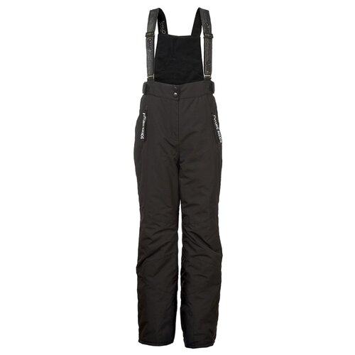 Купить Полукомбинезон Oldos Блю PAW192T1PT01 размер 140, черный, Полукомбинезоны и брюки