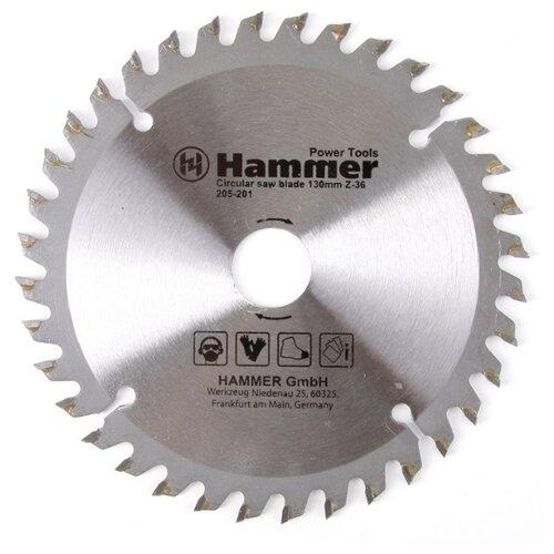 Пильный диск Hammer Flex 205-201 CSB PL 130х20 мм пильный диск hammer flex 205 108 csb wd 185х30 мм